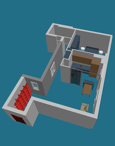 Progettazione-interni-interior-design-appartamento-Roma-Eur-8